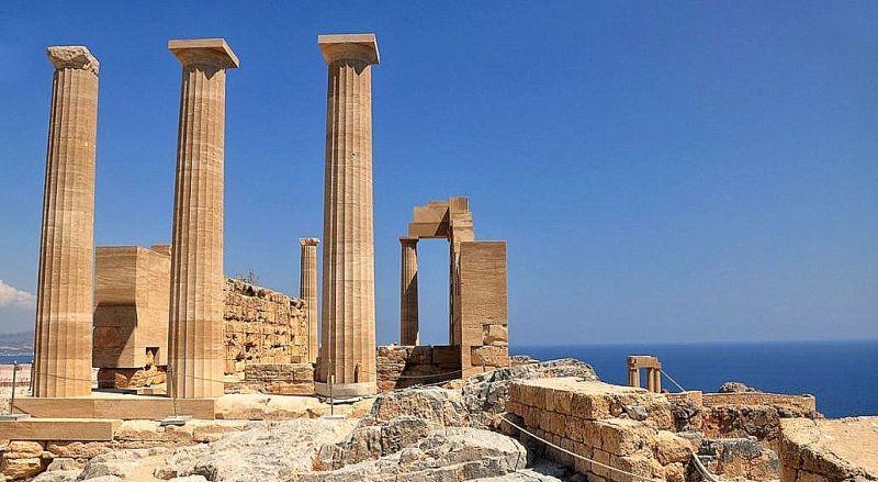 Храм Афины Линды Родос