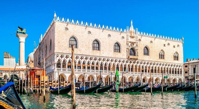 Дворей Дожей Венеция