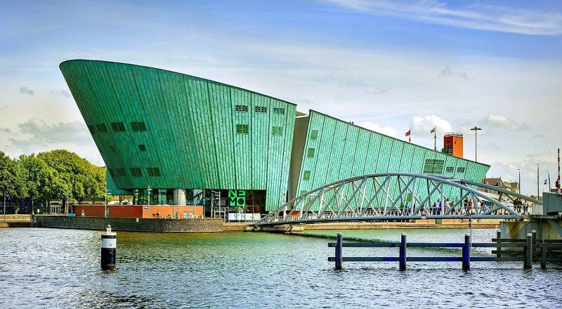 Интерактивный музей NEMO Нидерланды