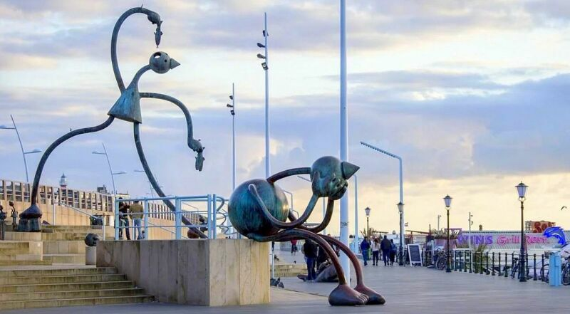 Гаага Музей Скульптуры на море