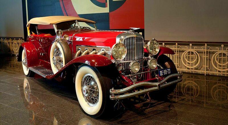 Гаага Музей ретро автомобилей