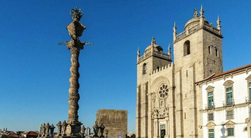 Кафедральный собор Порту Португалия