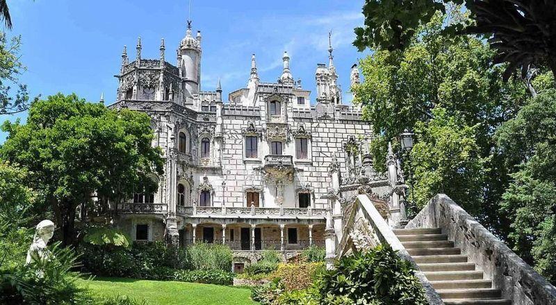 Дворец Кинта да Регалейра Португалия