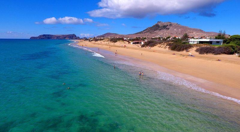 Остров Порту-Санта Мадейра