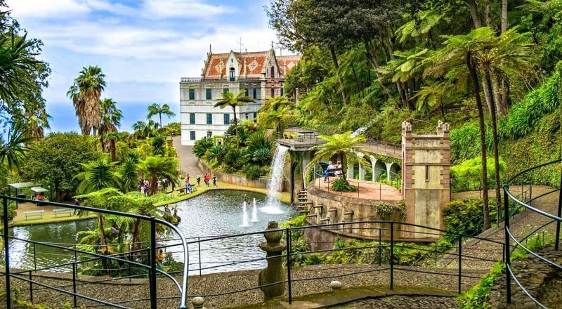 Тропический сад Монте Мадейра
