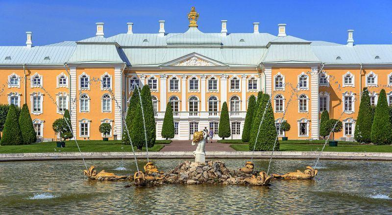 Большой дворец Петергоф