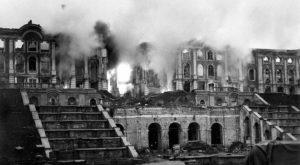 Петергоф во время войны