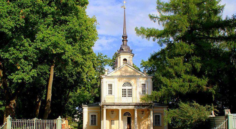 Знаменская церковь Пушкин