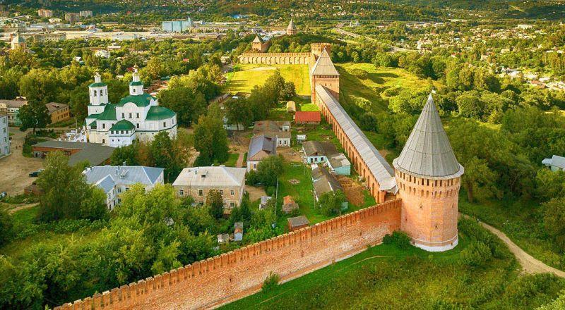 Смоленск кремль