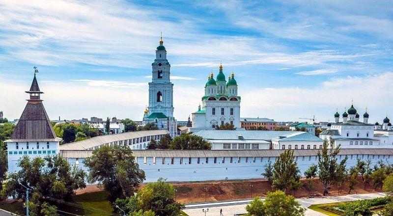 Астраханский кремль Южный федеральный округ