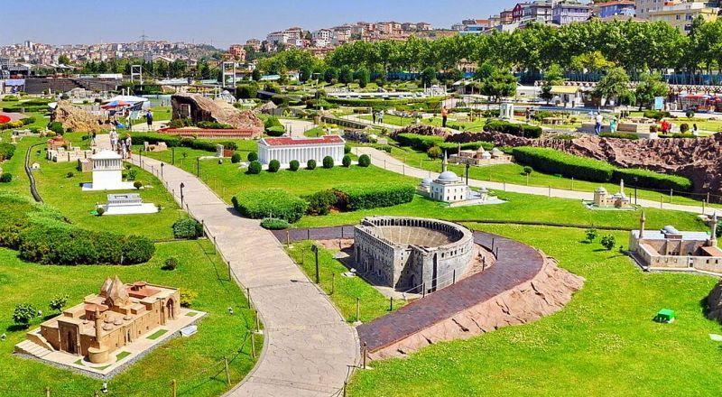 Парк миниатюр Стамбул