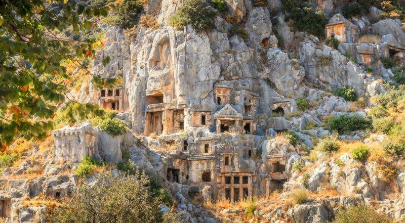 Гробницы Ликии Турция