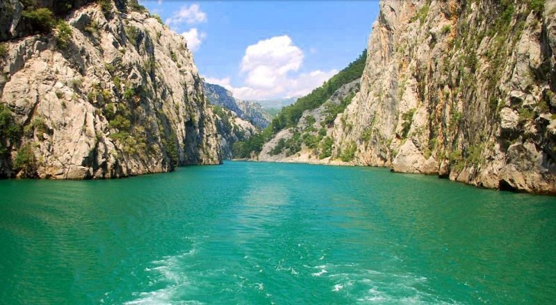 Зеленый каньон Турция