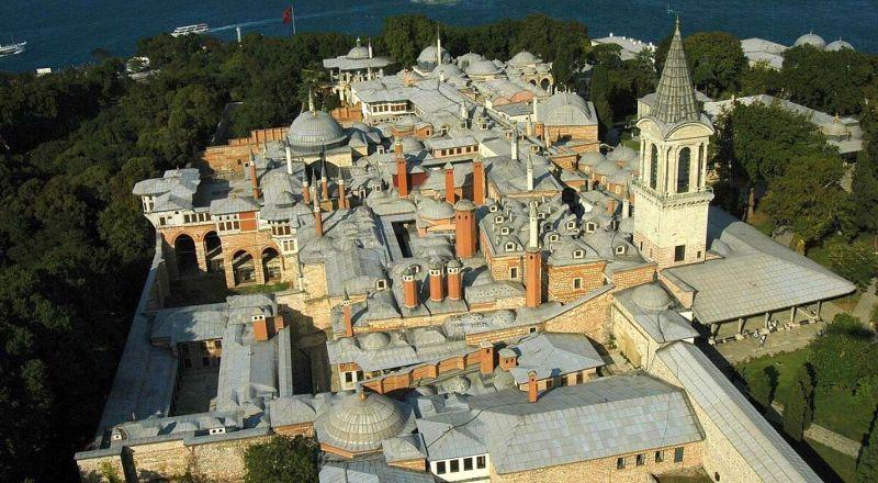 Дворец Топкалы Стамбул