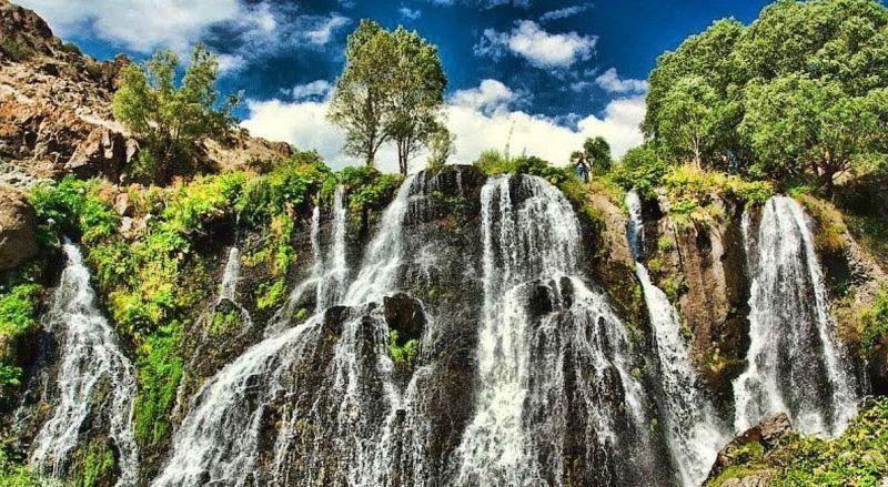 Водопад Джермук