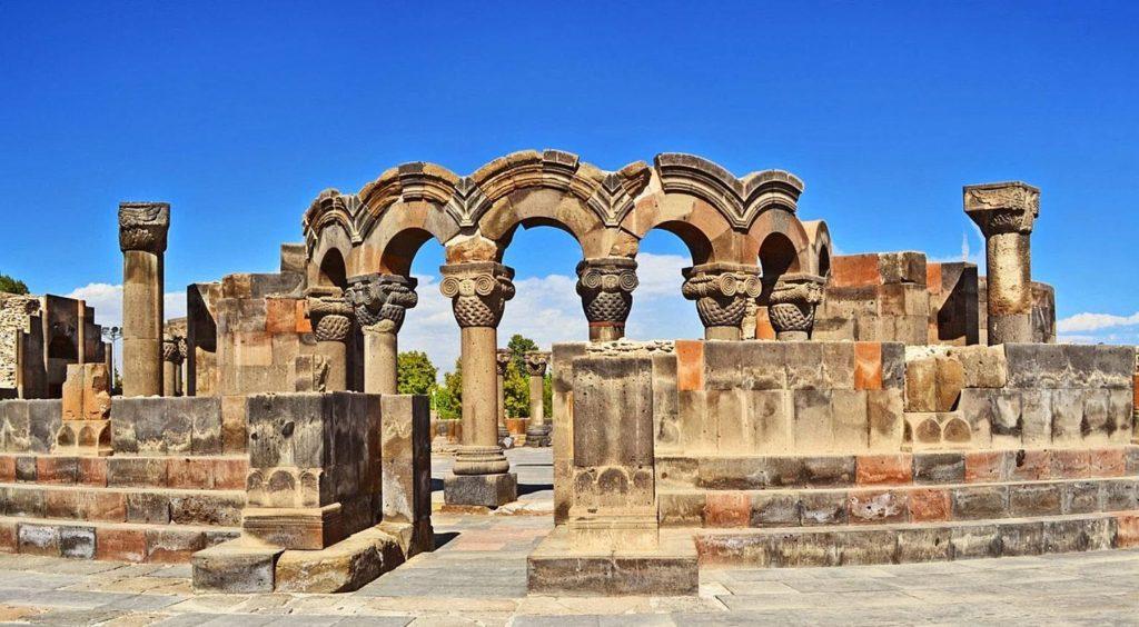 Храм Звартноц Армения