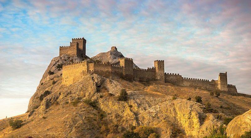 Генуэзская крепость Крым