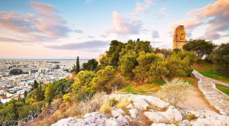 Холм Муз Греция
