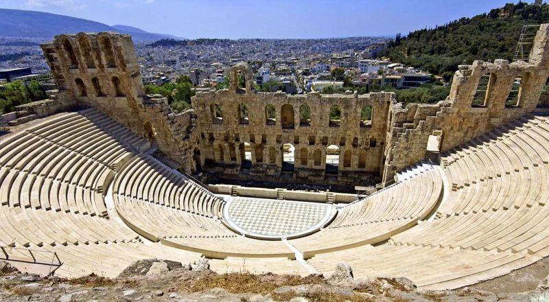 Одеон Герода Афины Греция