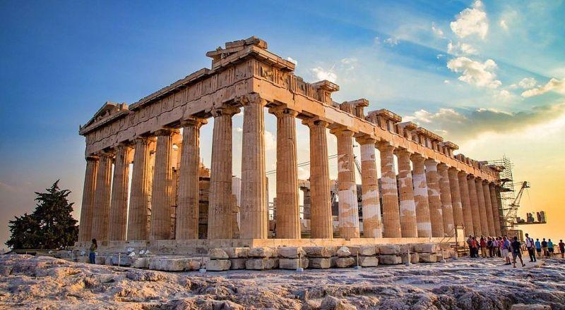 Парфенон Афины Греция