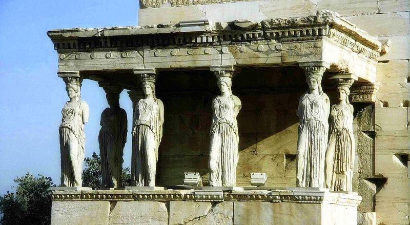 Храм Эрехтейон в Греции