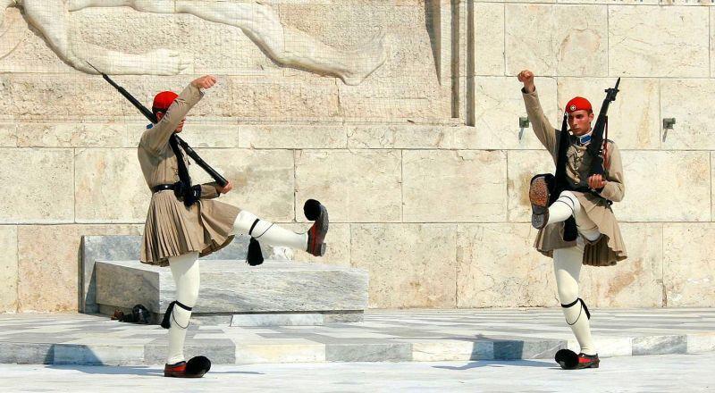 Смена караула Греция