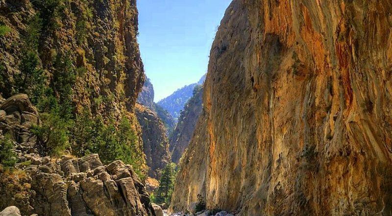 Самарийское ущелье Крит Греция