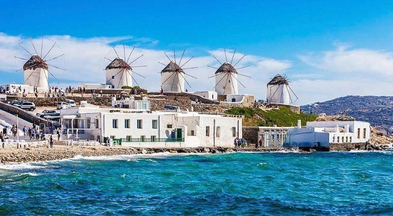 Остров Минос Греция