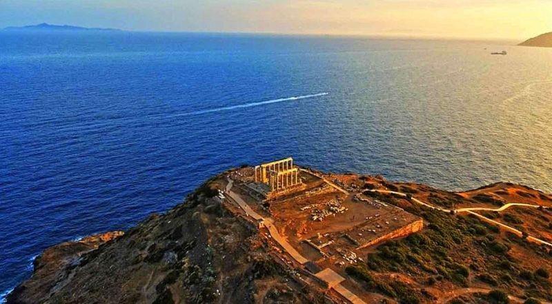 Мыс Сунион Аттика Греция