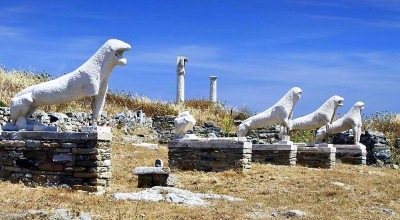 Остров Делос Греция
