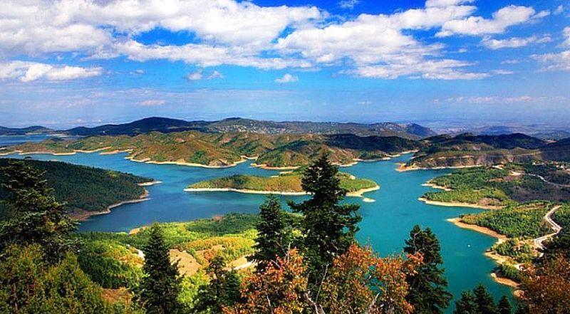 Озеро Пластира Греция