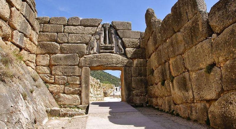 Львиные ворота Микены