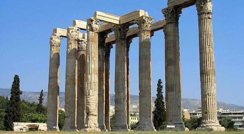 Храм Зевса Олимпийского Афины