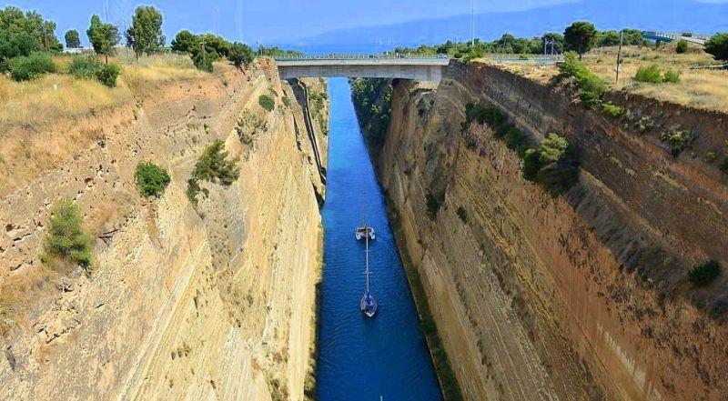 Коринфский канал Греция