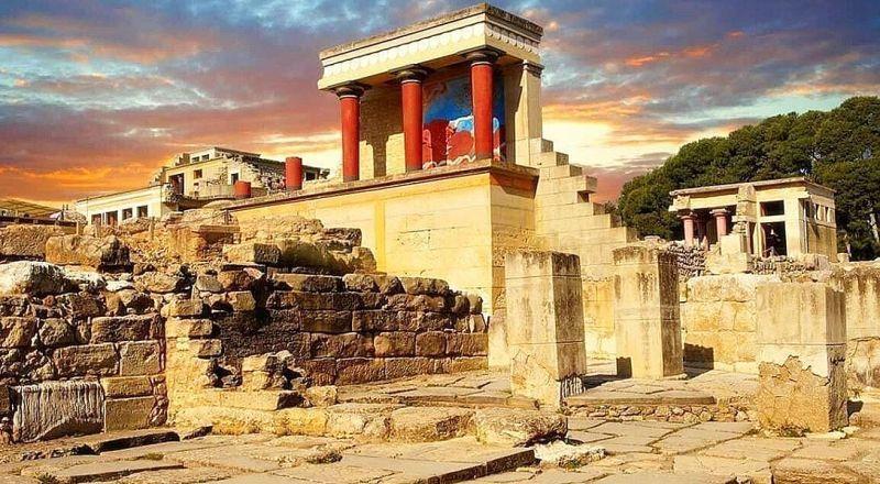 Лабиринт Минотавра Крит