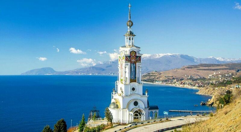 Храм-маяк Николая Чудотворца Алушта
