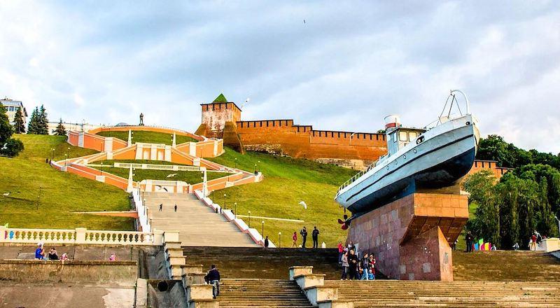 Чкаловская лестница Нижний