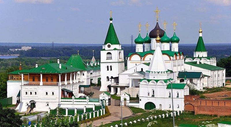 Печерский Вознесенский монастырь Нижний Новгород