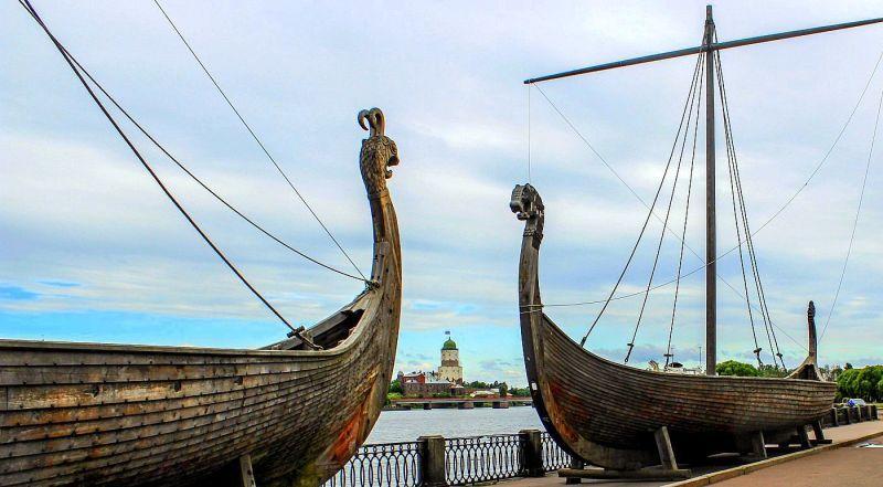 Дракары викингов