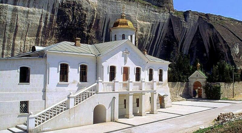 Инкерманский пещерный монастырь Севастополь