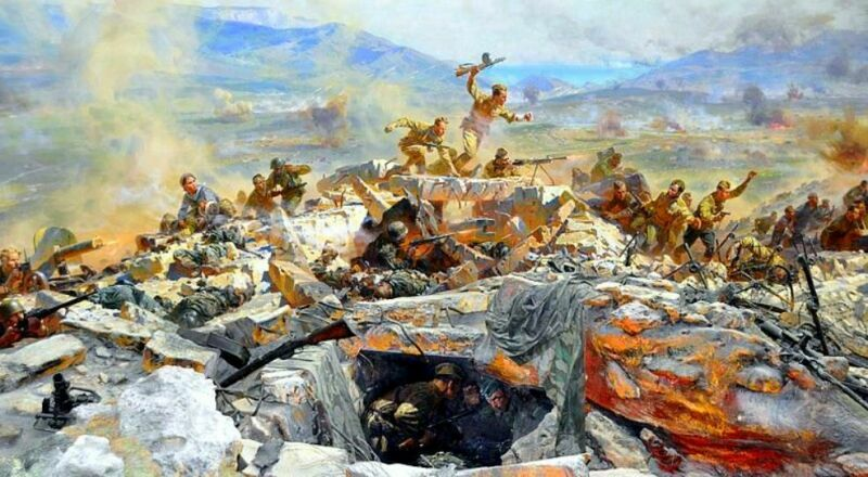 Диорама Штурм Сапун-горы