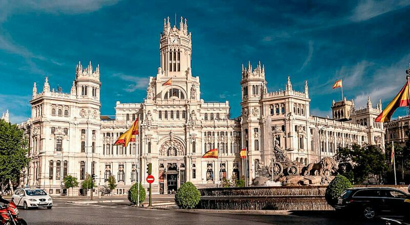 Дворец Сибелес Мадрид