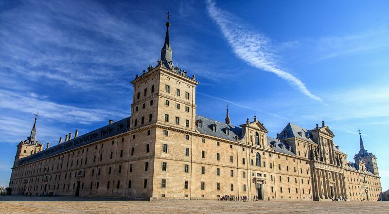 Монастырь Эскориал Мадрид