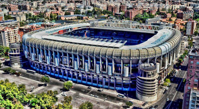 Стадион ФК Реал Мадрид