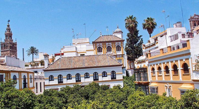 Квартал Санта Крус Севилья