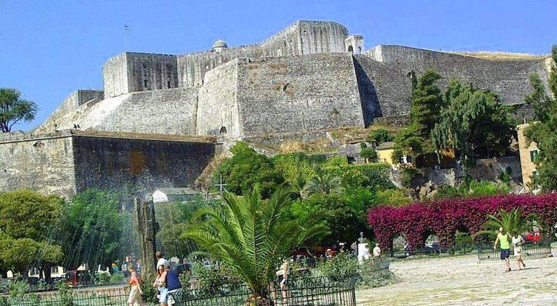 Новый форт Корфу