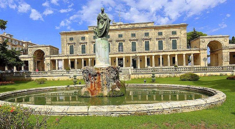 Дворец Михаила и Георгия Корфу