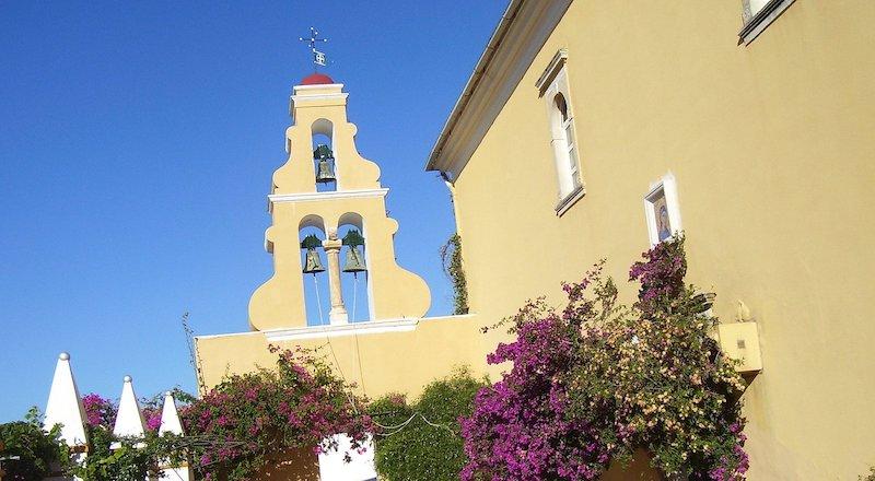 Мужской монастырь в Палеокастрице