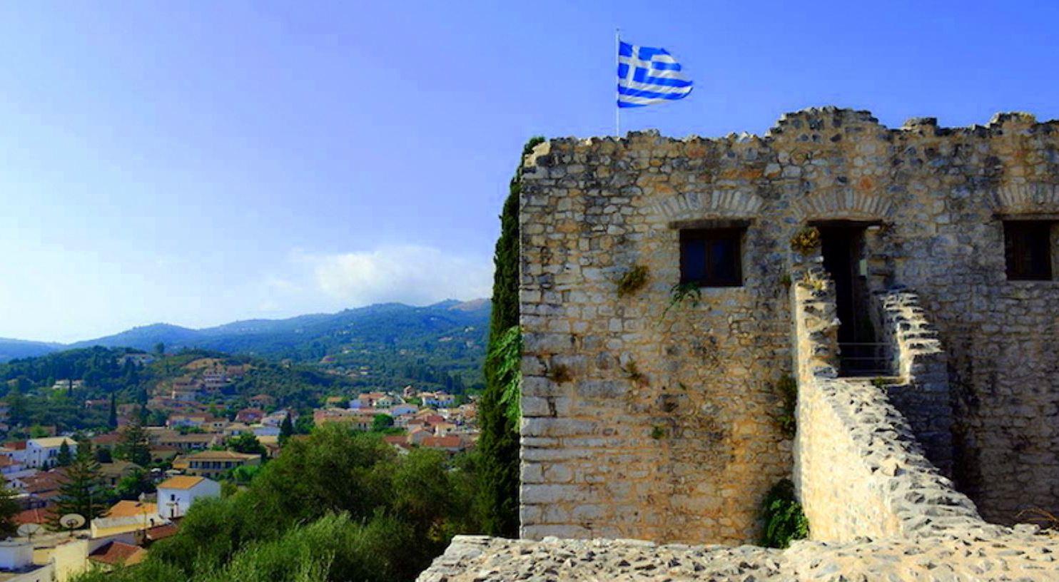 Крепость Кассиопи на Корфу