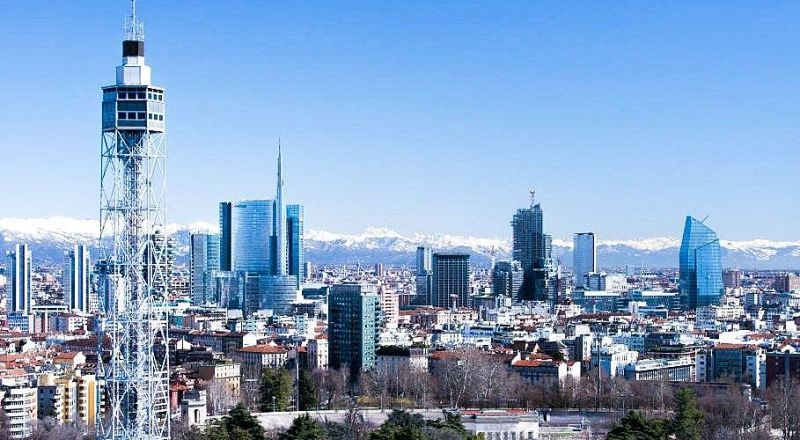 Смотровая площадка Torre Littoria Милан